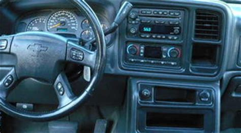 And Subwoofer Wiring Diagram Chevy Truck by Chevrolet Tahoe Z71 With Premium Bose System I A 2003