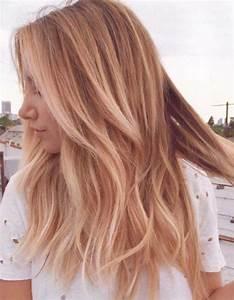 Balayage Cheveux Frisés : balayage cuivr sur blond balayage cuivr le reflet chaud adopter cette saison elle ~ Farleysfitness.com Idées de Décoration