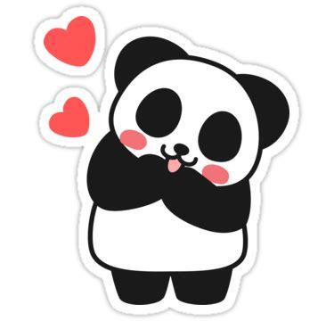 sticker x stiker laptop quot panda sticker quot stickers by i got a redbubble