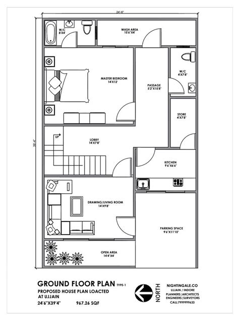 house plan  feet indian plan ground floor  details contact   house plans