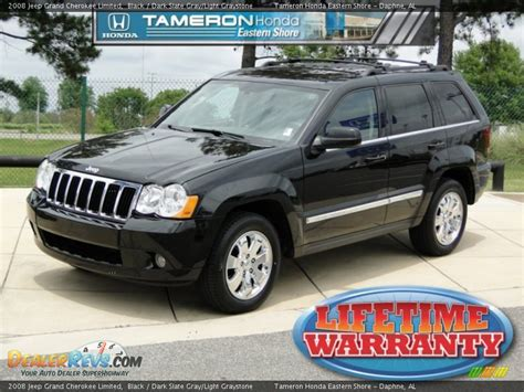 dark gray jeep grand cherokee 2008 jeep grand cherokee limited black dark slate gray
