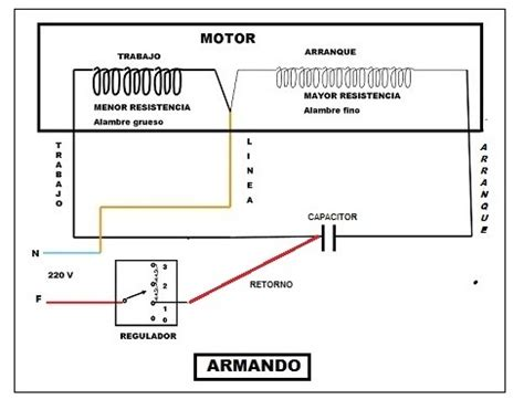 solucionado ventilador de techo cables al capacitor yoreparo
