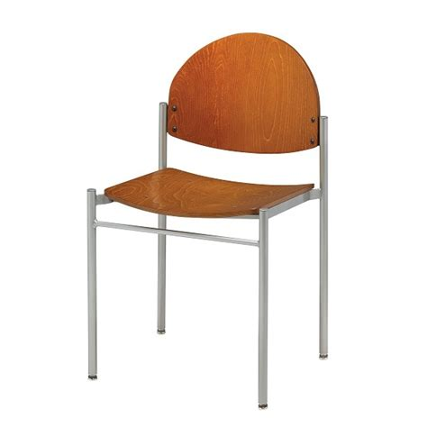 Diana Armless Stacking Chair  Shop Name