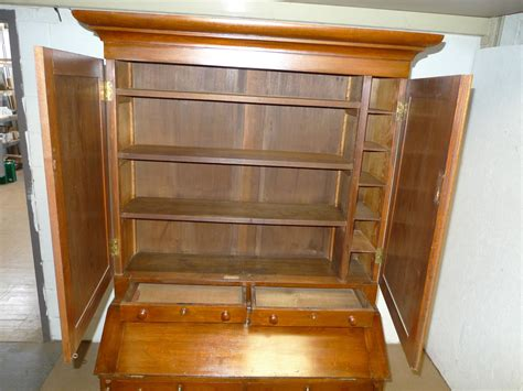 Furniture Sale Bookcase by American Mission Roycroft Chestnut Bookcase