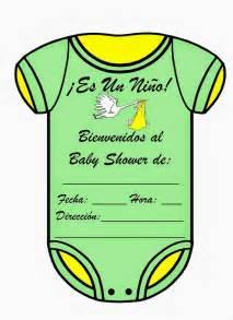 Baby Shower Centros De Mesa by Tarjetas De Baby Shower Para Un Ni 241 O Baby Shower Ideas
