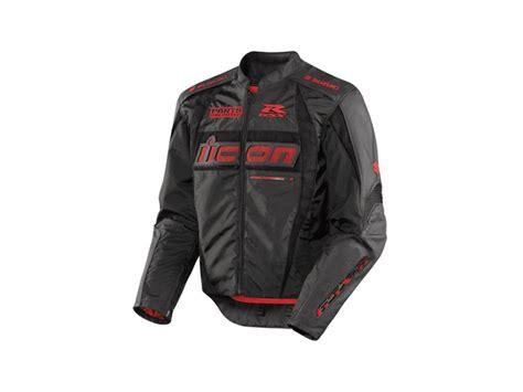 Suzuki Gsxr Jacket by Icon Suzuki Gsxr Arc Jacket Sm Black 2820 1315