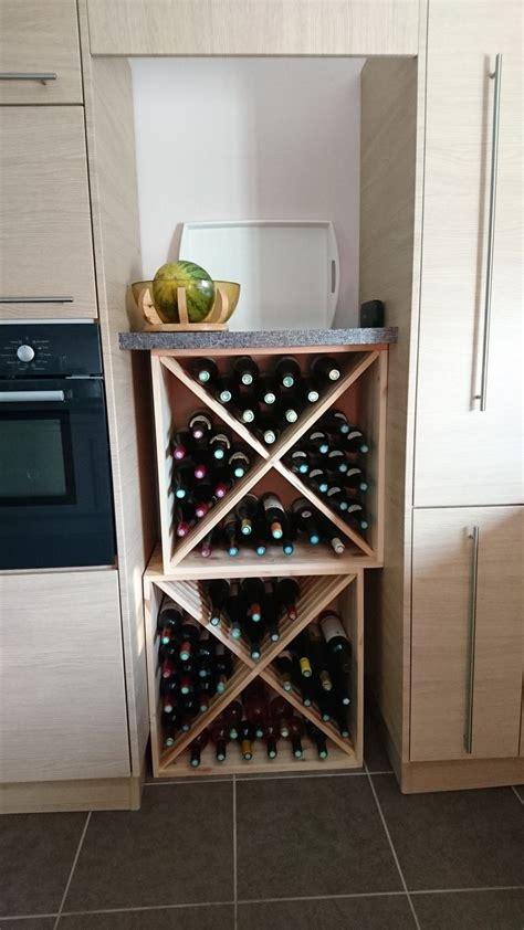 cave a vin de cuisine 17 meilleures idées à propos de casiers à bouteilles de