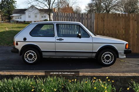 rabbit volkswagen 1984 vw rabbit gti ac 106k