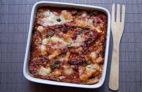 recette de cuisine italienne traditionnelle aubergines à la parmigiana la cuisine italienne