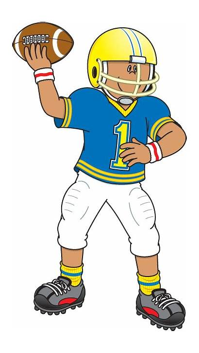 Football Player Clip Clipart Education Graphics Sport