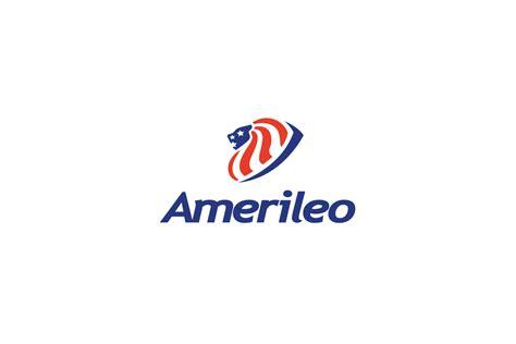 amerileousa lion flag logo design logo cowboy