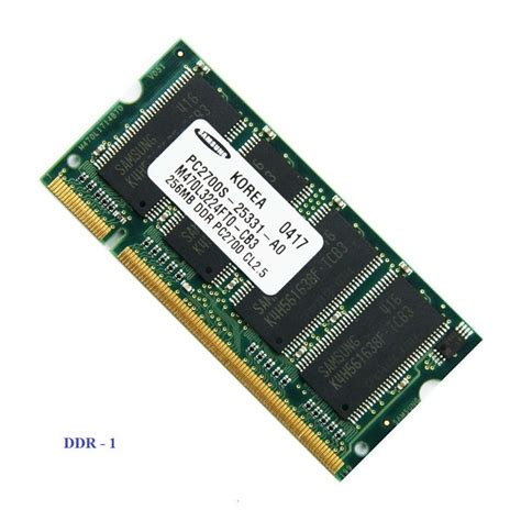What is the difference between laptop RAM DDR1, DDR2, DDR3