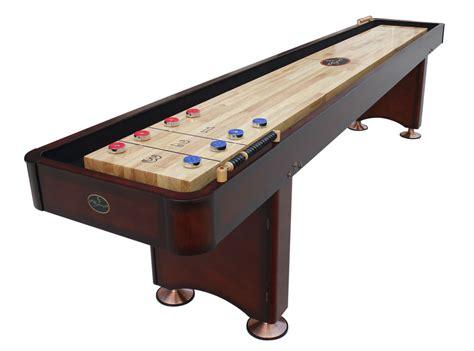 a shuffleboard table 12 georgetown cherry shuffleboard table shuffleboard net 7337