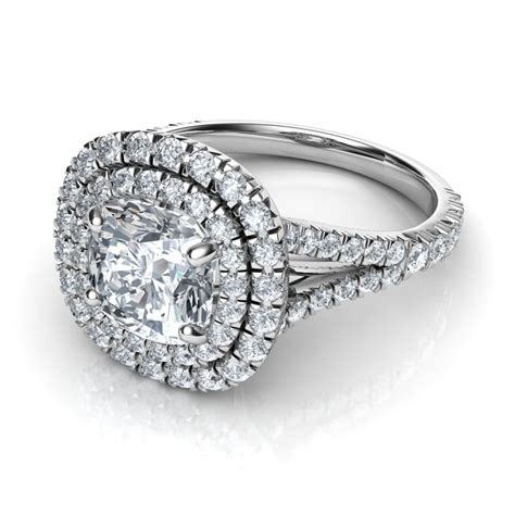 The Gallery For > Double Halo Split Shank Engagement Rings. Satin Rings. Cherokee Engagement Rings. Melee Diamond Engagement Rings. Real Diamond Wedding Rings. Bad Men Wedding Engagement Rings. Halo Setting Rings. Hippie Engagement Rings. Detailed Wedding Engagement Rings