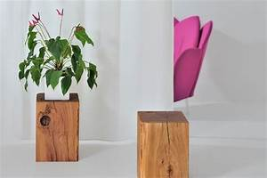 Hocker Aus Holz : hocker klotz ~ Markanthonyermac.com Haus und Dekorationen