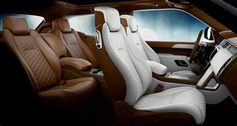 range rover sv coupe interior  forcegtcom