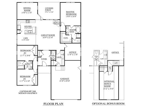 Floor Diagram by Southern Heritage Home Designs House Plan 1966 A The