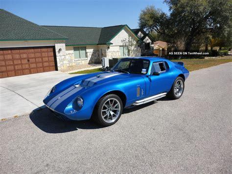 Daytona Replica by 1965 Shelby Cobra Daytona Replica