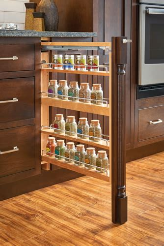 kitchen storage solutions custom spice rack pantry shelving cabinets sollid cabinetry