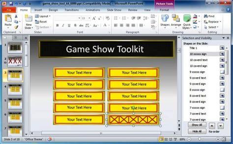 powerpoint game show templates  teachers briskiinfo
