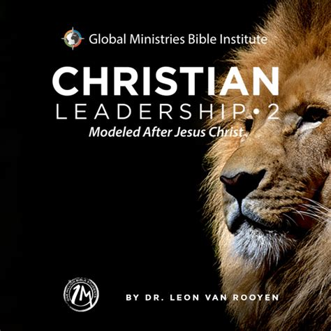 christian leadership ii modeled  jesus christ manual
