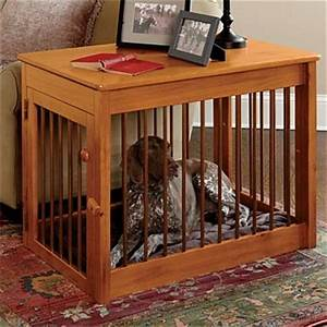 Wood dog crate wood metal deluxe dog crate traditional for Wood and metal dog crate