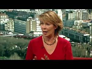 Celia Imrie The Andrew Marr Show 2009-02-08 - YouTube