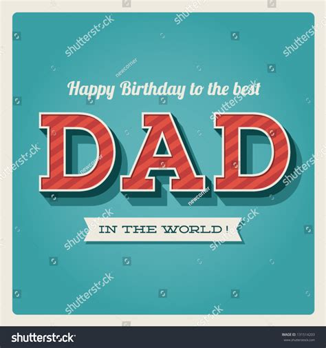 Our team of designers are continuously adding new images, backgrounds fonts and layouts to give your birthday card that extra edge. Happy Birthday Card Retro Type Font Stock Vector 131514203 - Shutterstock