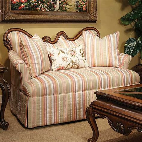 It has hardwood flooring topped with a tan area. 10 Victorian Style Loveseats Sofas Designs