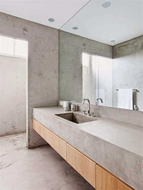 bathroom interior design concreto e madeira em banheiro arkpad bathroom