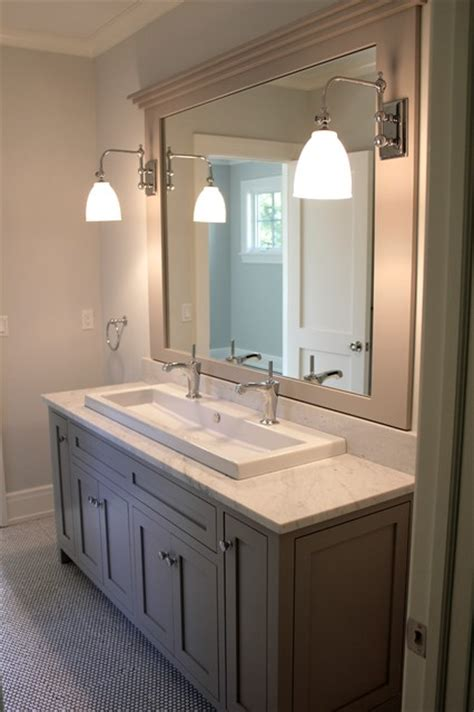 Bathroom Sinks And Faucets Ideas by Farm Road Traditional Bathroom New York By