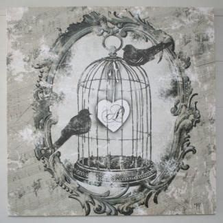 deco cage a oiseau ps on