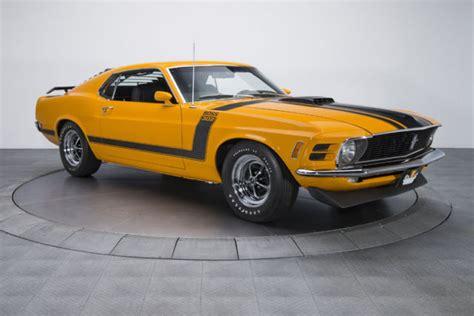 1970 Ford Mustang Boss 302 74,670 Miles Grabber Orange
