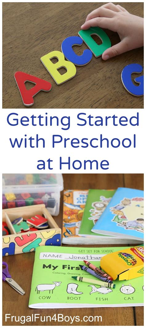 getting started with preschool at home 519 | Preschool Pin Edited