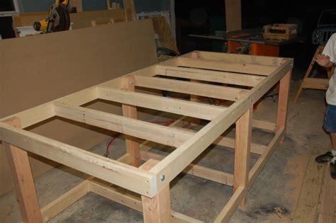billy easy workbench leg construction wood plans  uk ca
