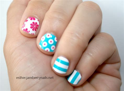 jamberry nails review  tutorial esthers nail corner