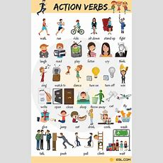 Learn 300+ Common Verbs In English With Pictures  7 E S L