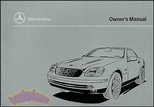 1999 Mercedes Slk230 Kompressor Owners Manual Book Slk 230