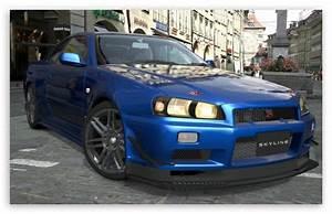 Nissan Skyline R34 4K HD Desktop Wallpaper for 4K Ultra HD