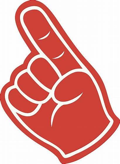 Finger Foam Clipart Background Vector Outlining Hand