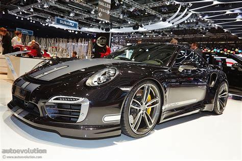Techart Presents Modified Porsche 911 Turbo S In Geneva