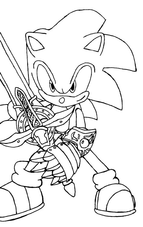 The following is our collection of sonic coloring page printables. Sonic Coloring Pages for Boys   Educative Printable