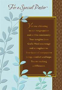 You, U0026, 39, Re, A, Blessing, Pastor, Anniversary, Card