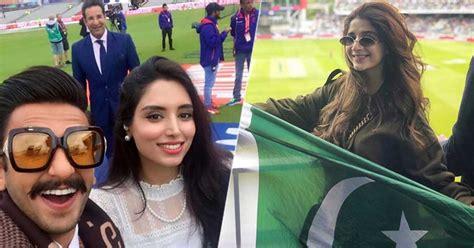 pakistani celebrities cup pakistan india bollywood vs superstars spotted brandsynario cricket craze horns locked rivals witnessed peak biggest sunday history