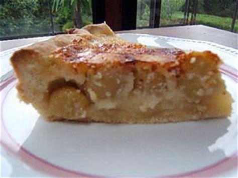 recette de tarte au raisin frais