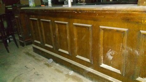 secondhand pub equipment reclaimed bars solid wood pub