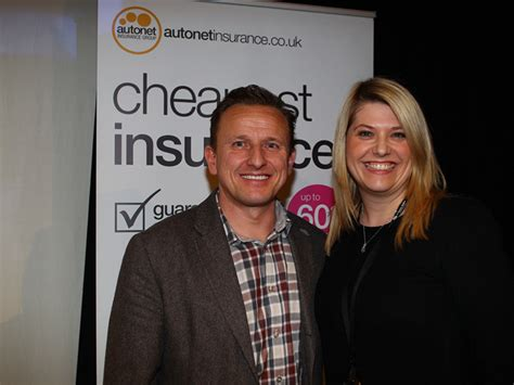 View the status of your auto claim. Ian Donaldson CEO of Autonet Insurance and Liz Clarke Doug… | Flickr