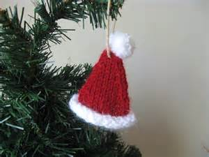 family crafts and recipes knitted christmas ornaments free pattern included