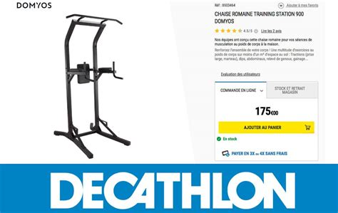 Decathlon Chaise Romaine by Chaise Romaine D 233 Cathlon Domyos A Lire Avant D Acheter