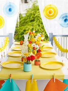 Décoration D Été : d coration de table d 39 t 39 id es sympas ~ Melissatoandfro.com Idées de Décoration